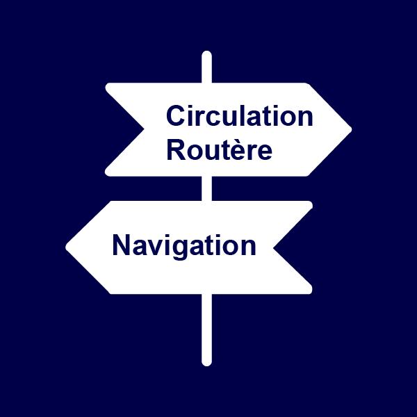Circulation routière et navigation